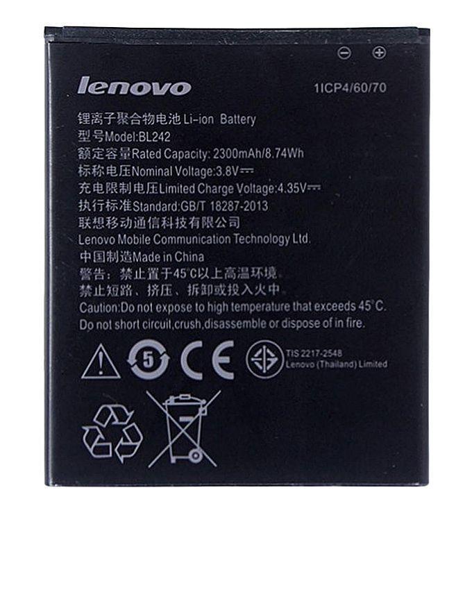 Bl242 - Battery For A6000 K3 K30-T - 2300Mah - Black