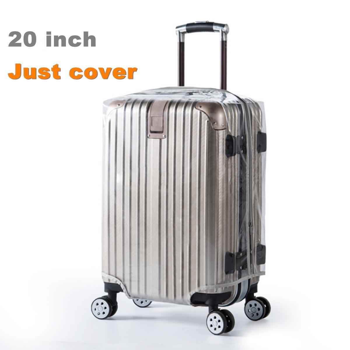 3ebdbc4296 20  -28   Transparent Luggage Protective Cover PVC Waterproof Suitcase  Protector 20