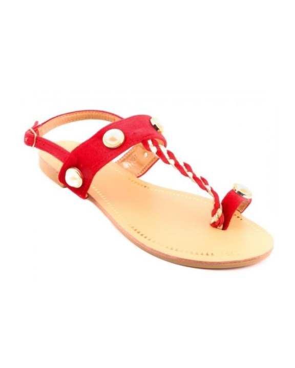 Red Formal Sandals