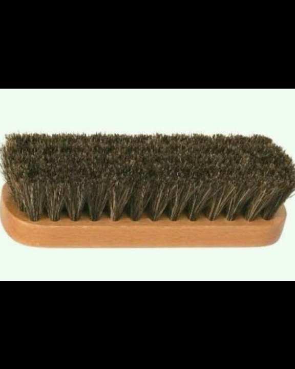 Brown Shoe Polish Brush.