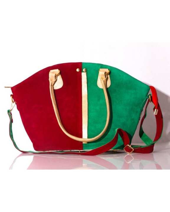 Multicolour Synthetic Purse Hand Bags Formal