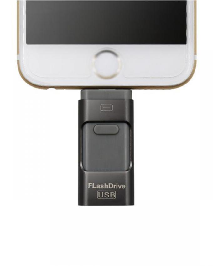 32 GB 3 in 1 IFlash Drive Smartphone & PC - Black