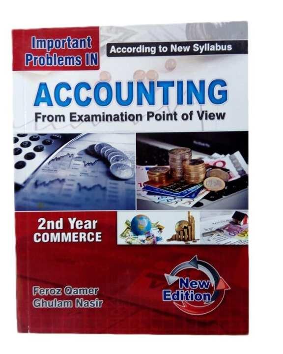 Accounting 2nd Year Commerce - Feroz Nasir
