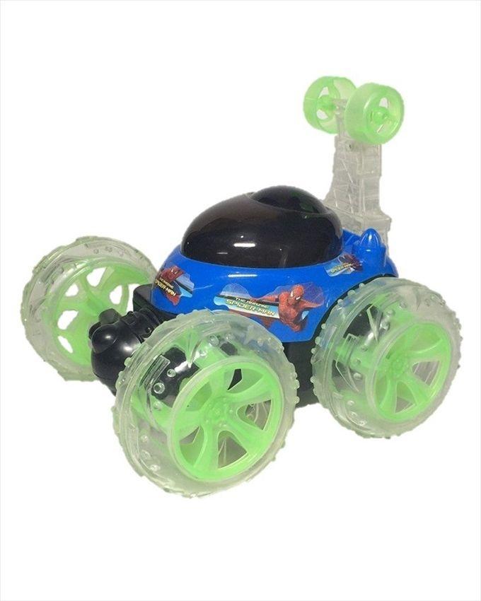 Cyclone 360' Spiderman Remote Stunt Car - Multicolour