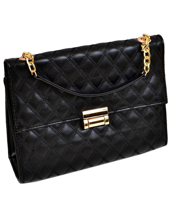 Black Casual Handbag for Women - 20501117