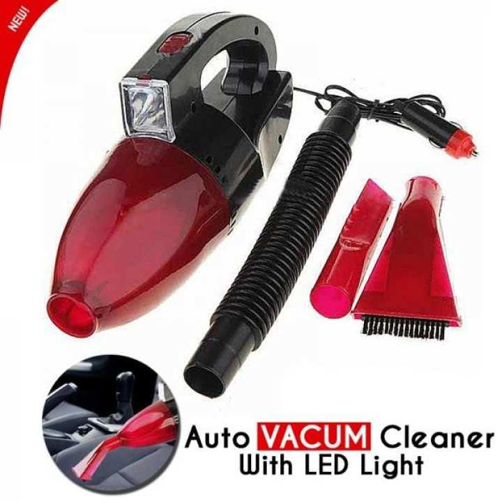 MINI CAR VACUUM CLEANER WITH LIGHT