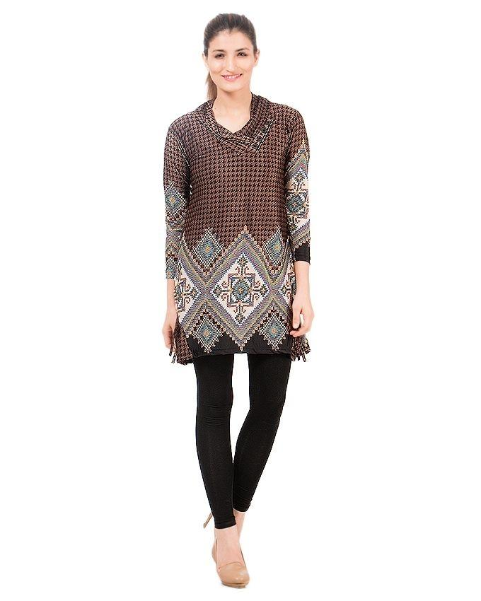 Multicolor Viscose Kurti for Women