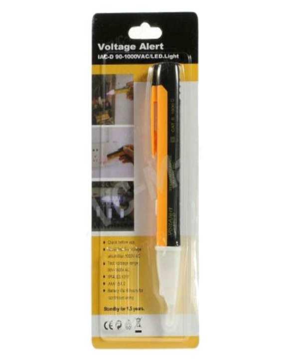 Electric Socket  AC Power Outlet Voltage Alert Detector Sensor Tester Pen 90-1000V -1PCS