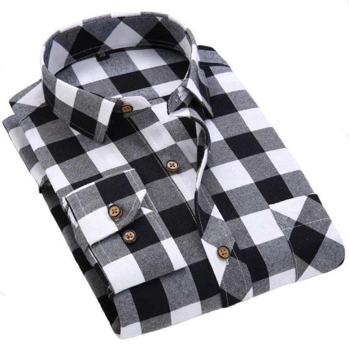 Designer Checkered Shirts For Men