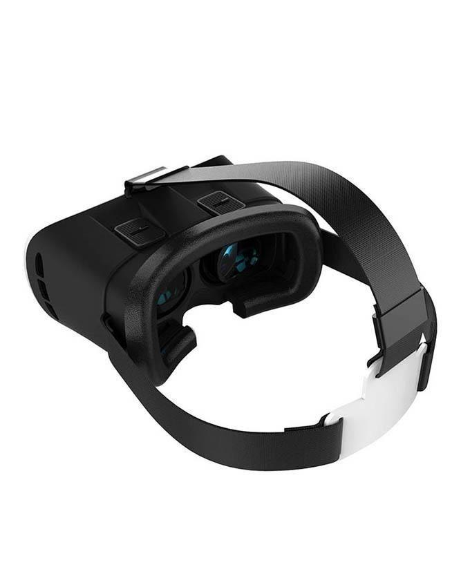 Pack of 3 - VR Box 2.0, Bluetooth Joystick Remote & Stereo Smartphone Handsfree - White