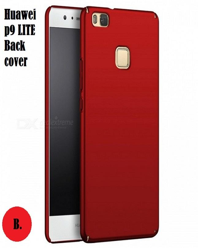 ... Huawei P9 Lite Soft Back Cover In Red Colour