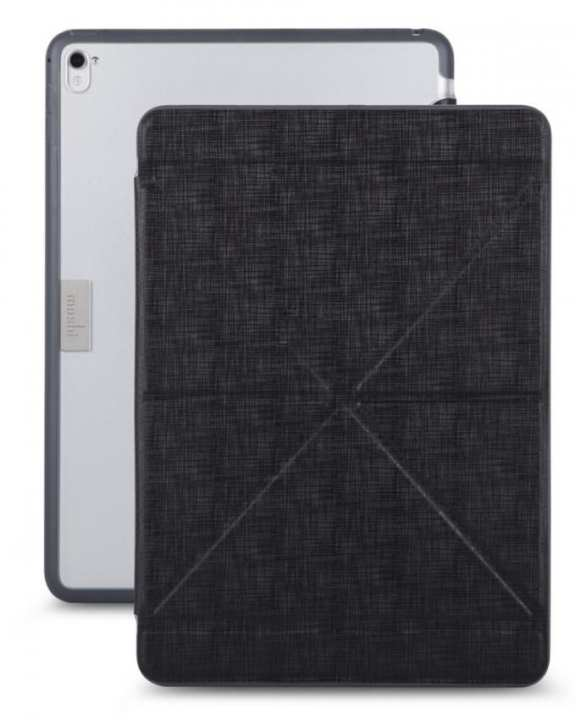"Versa Cover Origami Folding Case and Stand for iPad Pro - 9.7"" - Black"
