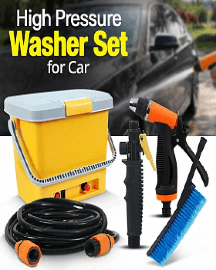 Portable High Pressure Car Washer Machine Car Washing Accessories Spray Gun