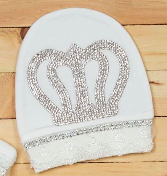 af48146b3 3 Pieces Newborn Dress set- Royal Reception Romper Set For Newborn Baby Girl