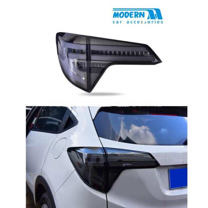 Honda Vezel Running LED Drl Tail Lights Lamp Smoke - Model 2013-2018
