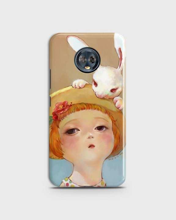 Moto G6 Plus Motorola Cover 1cover2810 - Beautiful Girl Print only