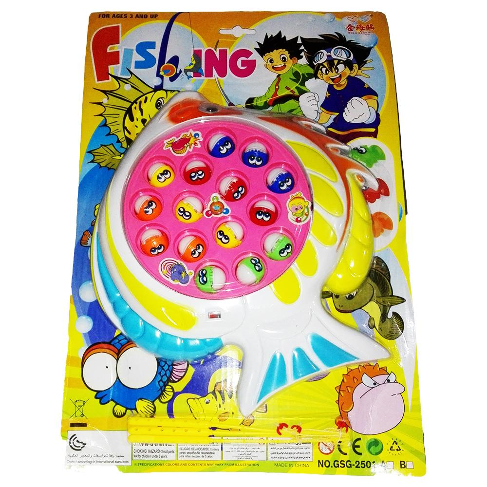 Fishing Game with Music &  Fish Pool for Kids