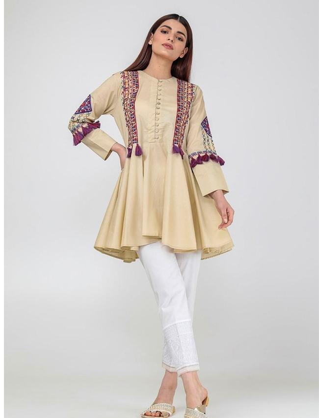 66699e5cd50 Embroidered Kurti For Women