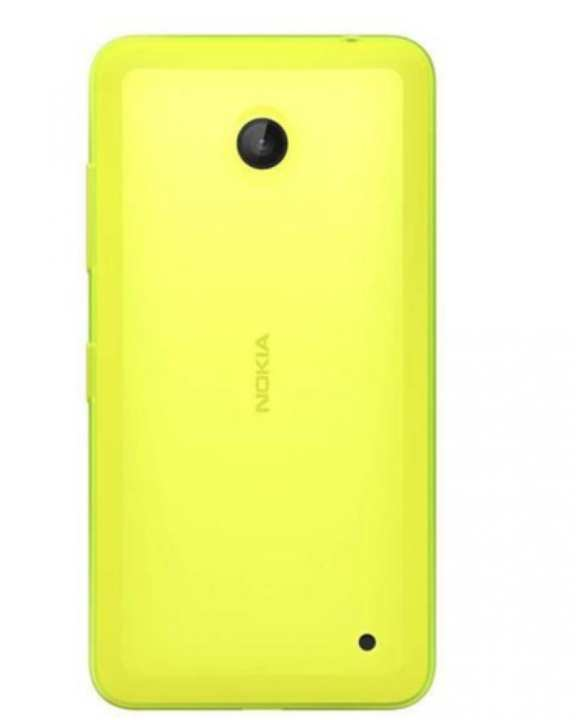 Body Replacement Back for Nokia 630 - Yellow