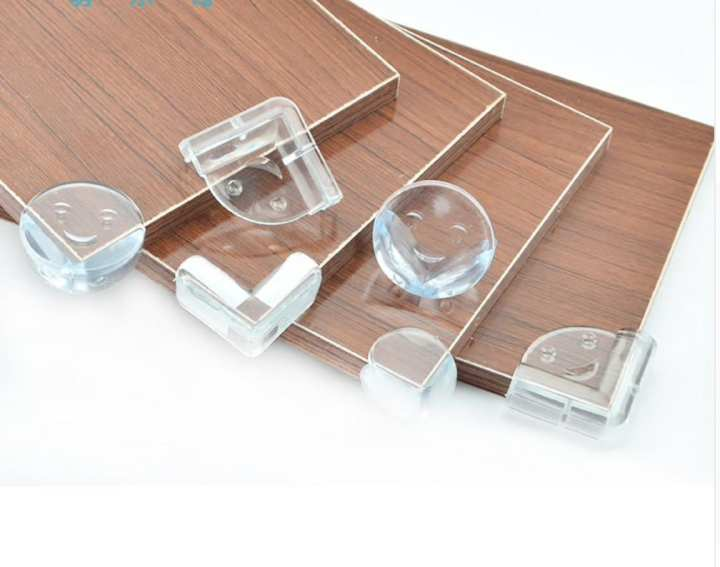 Baby Safety Silicone Protector Table Corner Edge Protection Cover-4pcs