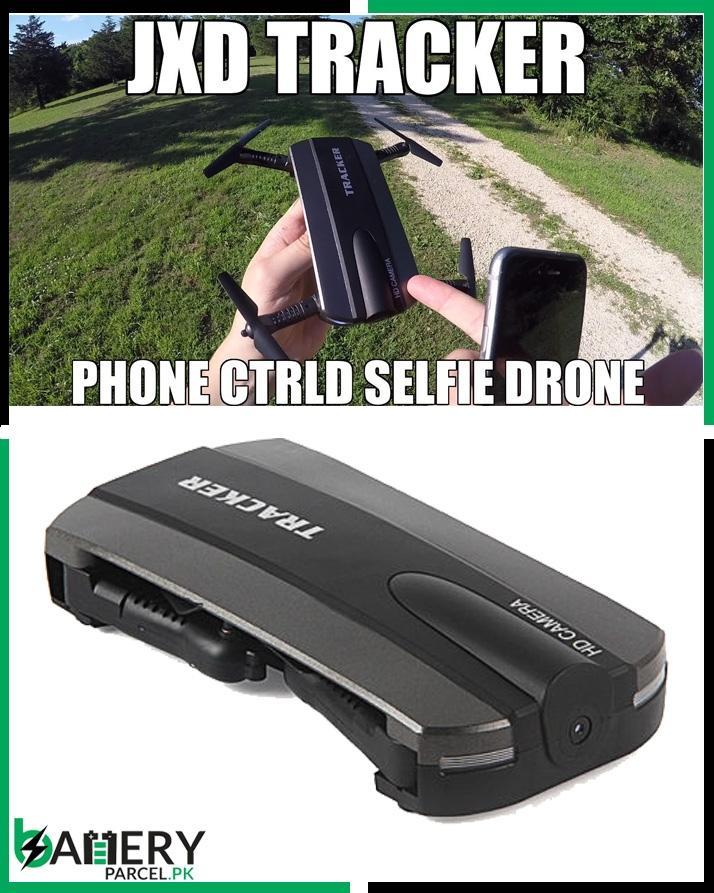 Jxd 523 Tracker Pliable Mini Rc Selfie Drone Wifi Fpv 720 P Hd Caméra Quadcopter
