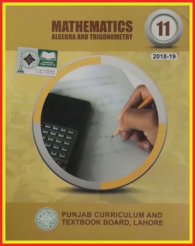 Mathematics Book of Class 11 With Binding - EM