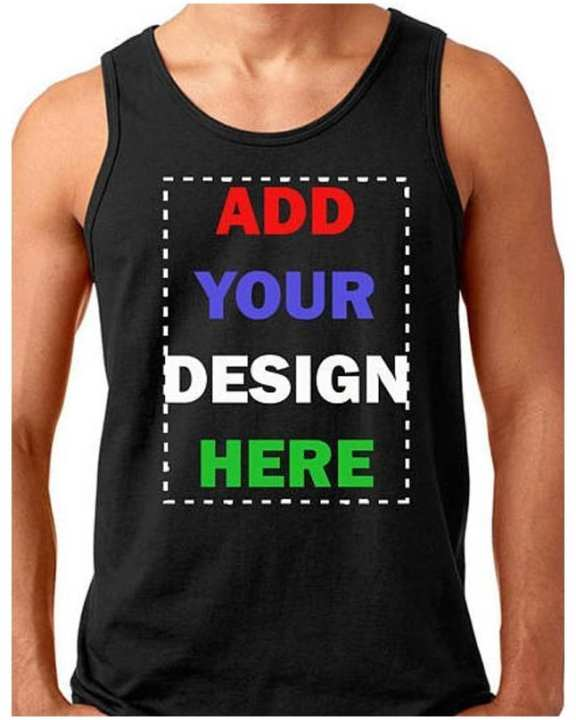 Design your own Tank Top- Custom Tank top - Tank top Printing Online