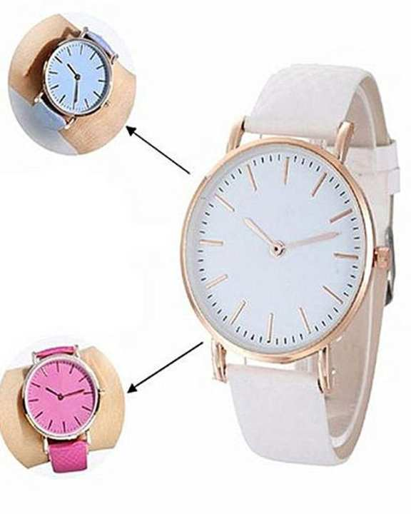 Pack Of 2 - Uv Color Changing Watch - Blue & Pink