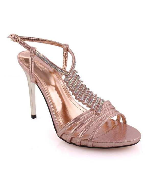 Narsa Embellished Evening Sandals For Women L29445