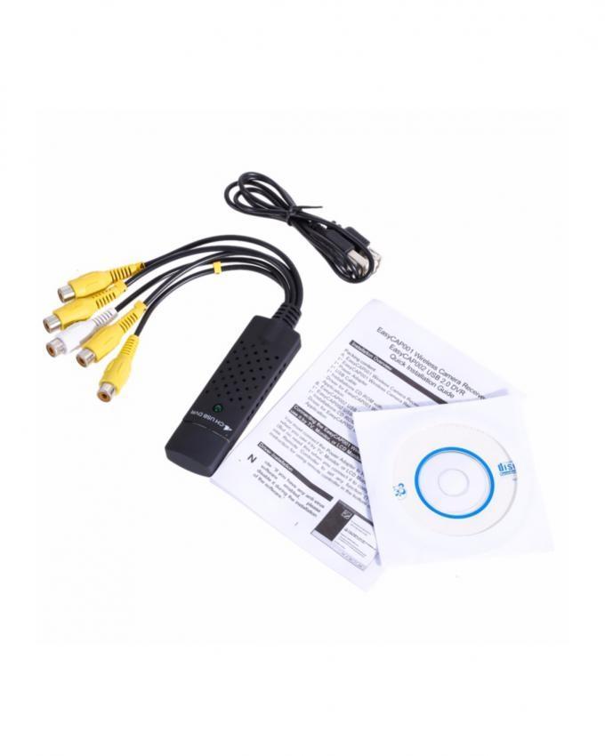 USB DVR 4 Channel - Black