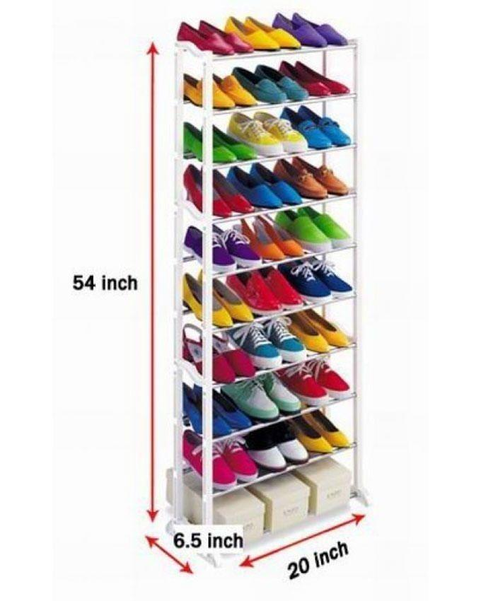 Amazing Shoe Rack - White