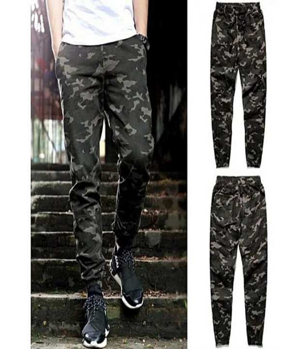 Pack Of 2 - Army Trouser For Men