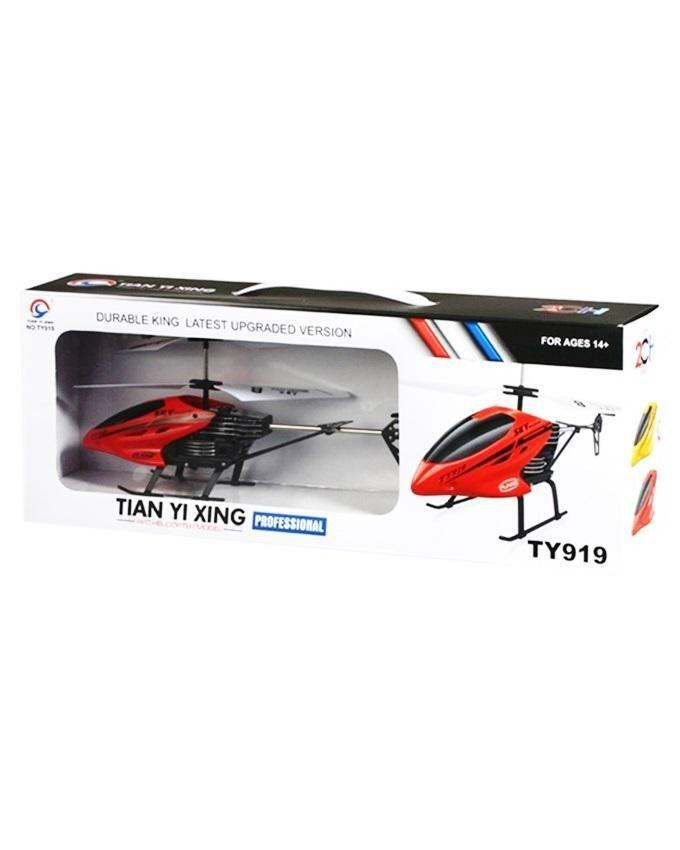 2-channel Flying helicopter  TY-919 - Red