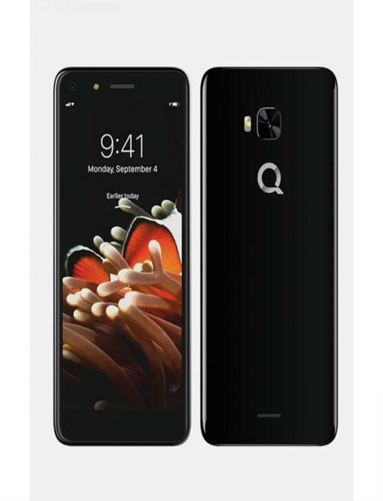 Q Mobile Infinity B Full Coverage Tempered Glass Screen Protector Transparent