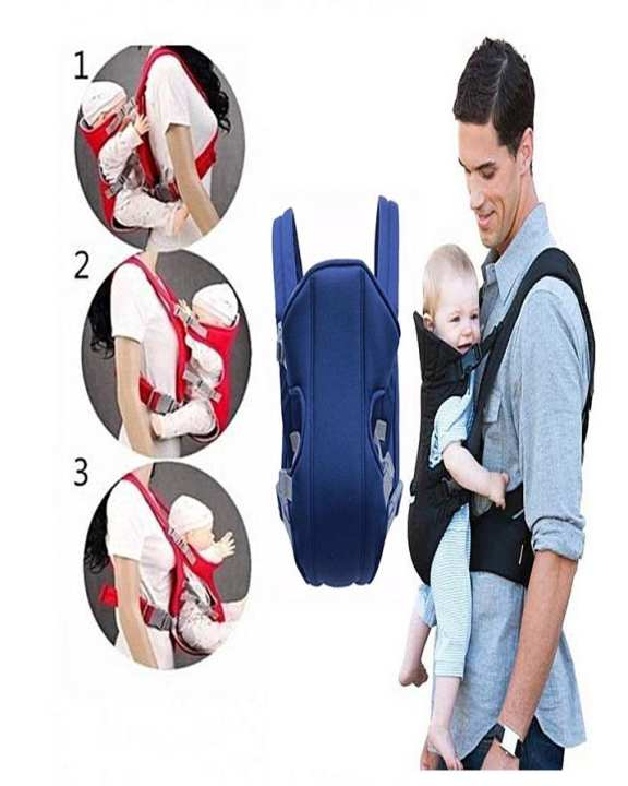 Baby Carrier Bag For Infants - 2 In 1 Baby Carrier Belt
