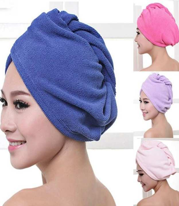 Twist Quick Hair Drying Towel Bathing Wrap Caps For Girls