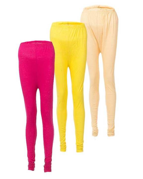 Pack of 3 - Tights for Women - Multi Color