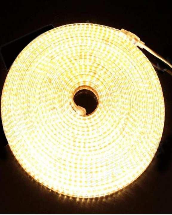 LED Constant Rope Light Strip - 10 Meter - Golden