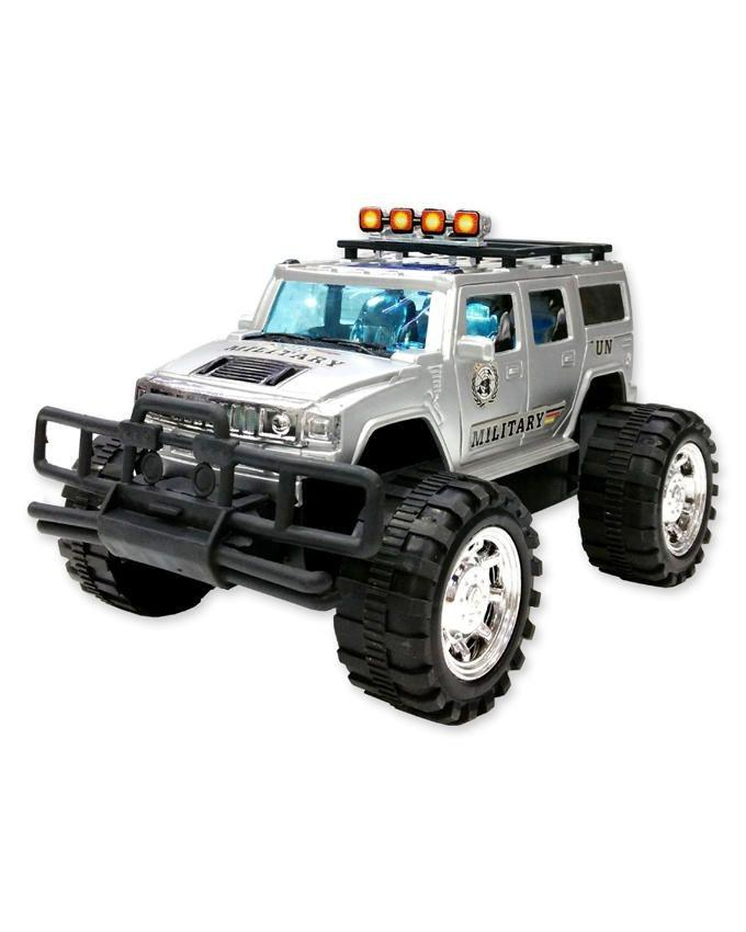 Toy Jeep For Kids - Silver