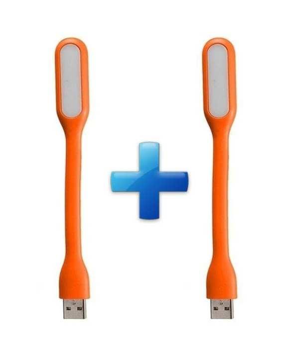 Pack Of 2 Usb Led Keyboard Light - Orange