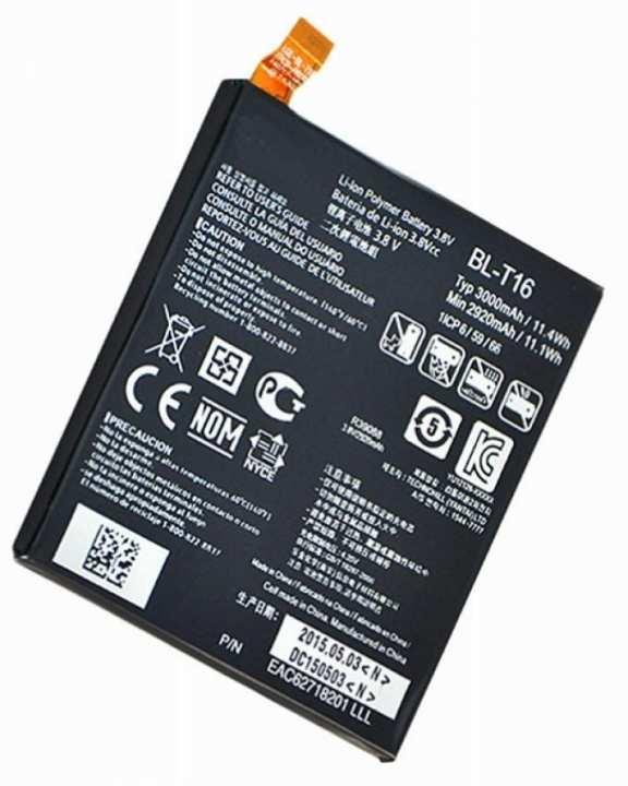 BL-T16 - Internal Battery For G Flex 2 H950 LS996 H959 - 3000mAh - Black
