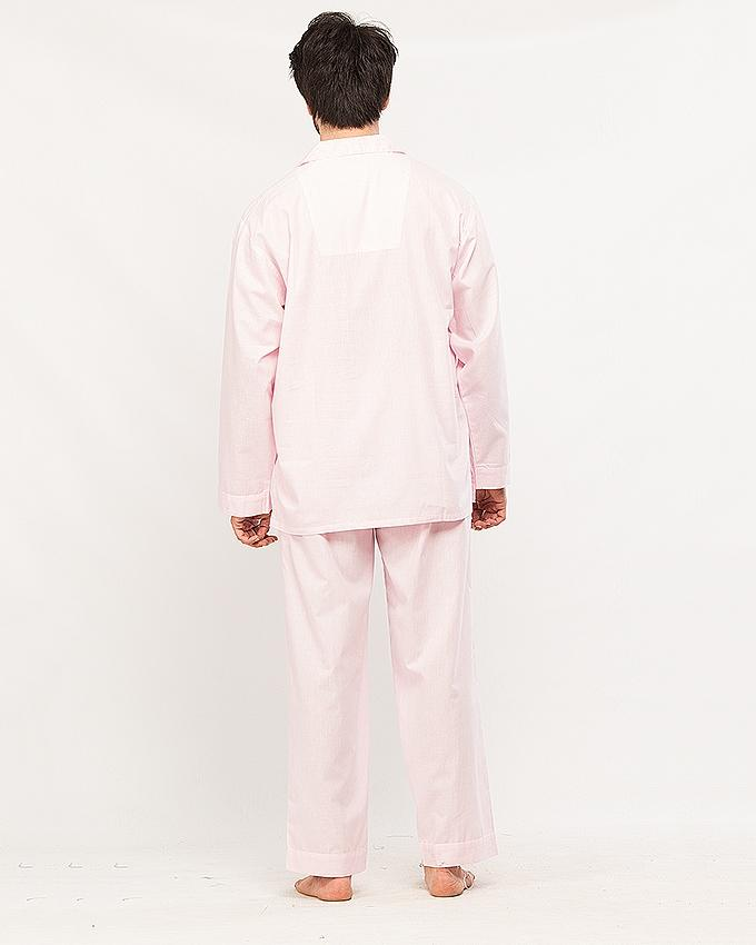 Egyptian Cotton Pink color PJ Set for Men's