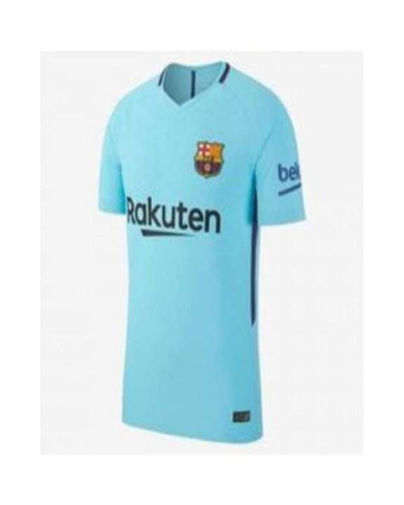 2017-2018 Barcelona Away Kit -Blue