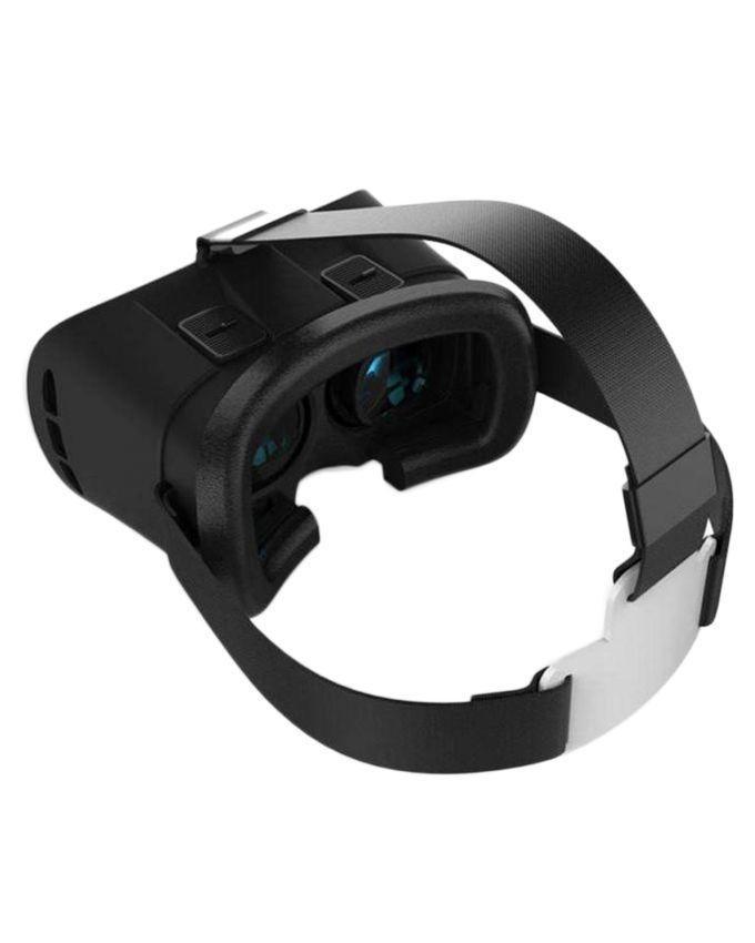 VR Box 3D Glasses With Remote - Black & White