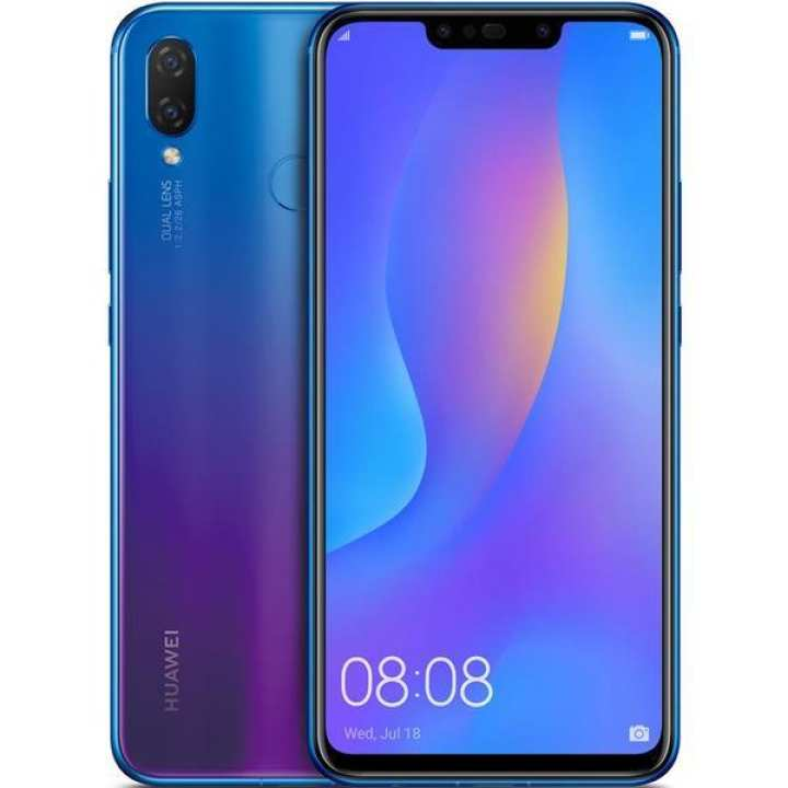 "Nova 3I - 6.3"" Full View Display 4Gb-Ram, 128Gb Rom, 4 Cameras- Iris Purple"