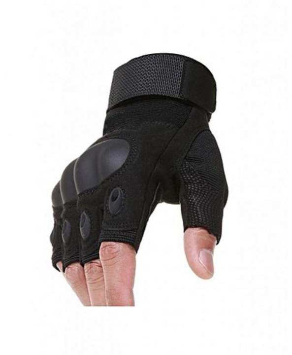 Half Finger Anti Skid Tactical Gloves - Camo