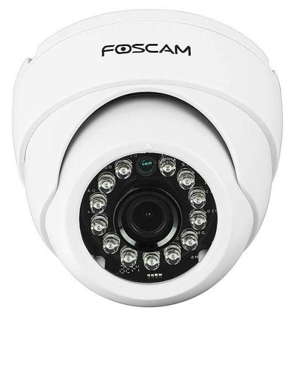 Wireless Recording Camera - FI-9851P - White