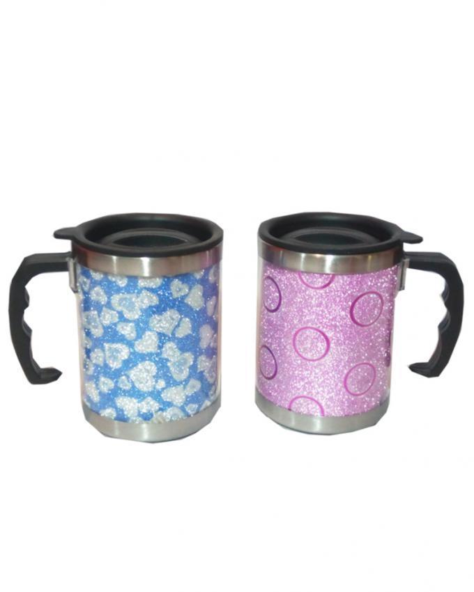 Pack of 2 - Coffee Mugs - Multicolor
