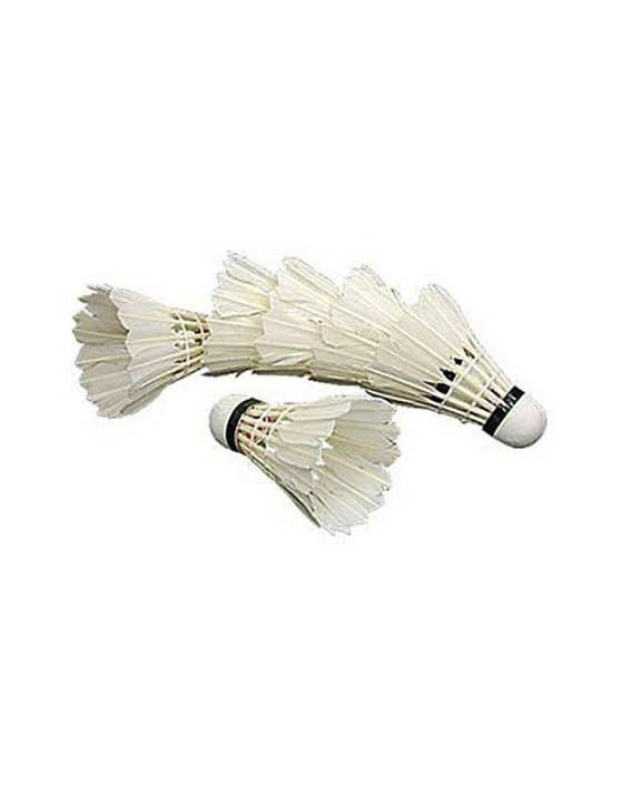 Pack of 6 - Badminton Feather Shuttle Cok