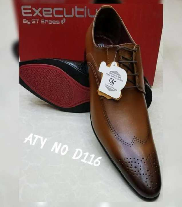 1b12a49388 Buy Dark Brown Pure Leather Formal Shoes | Cartright.pk